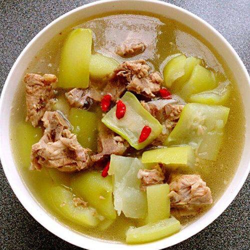 葫子排骨汤