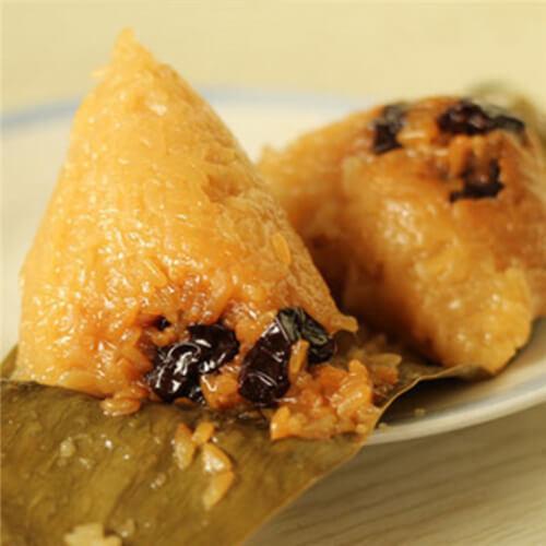 蜜枣黄米粽子