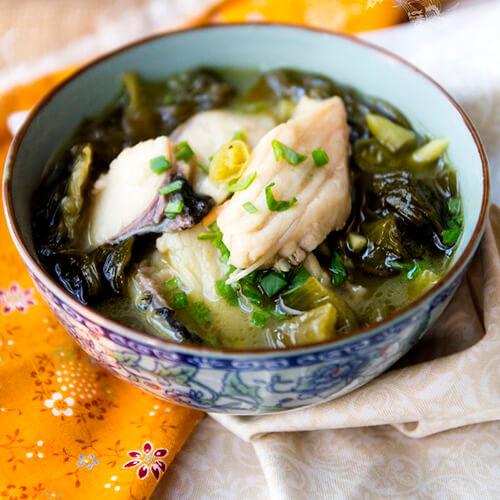裙带菜干鱼蔬菜汤