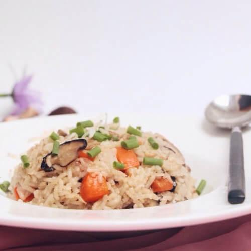 土豆瘦肉香菇饭