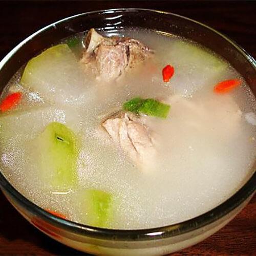 奶白冬瓜排骨汤