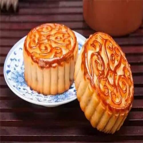 广式栗蓉蛋黄月饼
