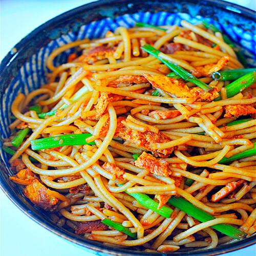 家常泡菜炒米粉