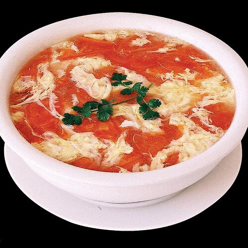 西红柿鸡蛋浓汤