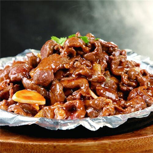 黑椒羊肉饭