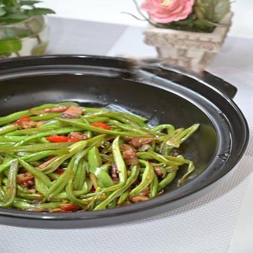 香炒豆角丝
