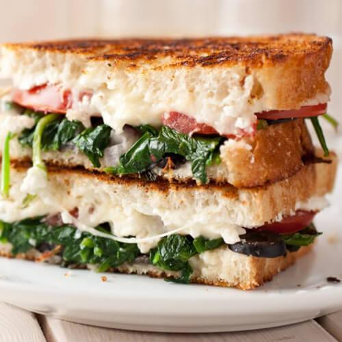 金枪鱼营养三明治