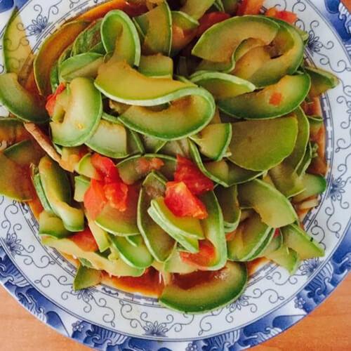 西红柿炒葫子