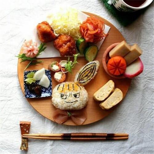 小苹果树早餐拼盘