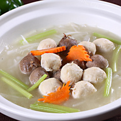 什锦肉丸汤
