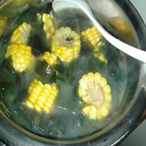 螺旋藻玉米汤