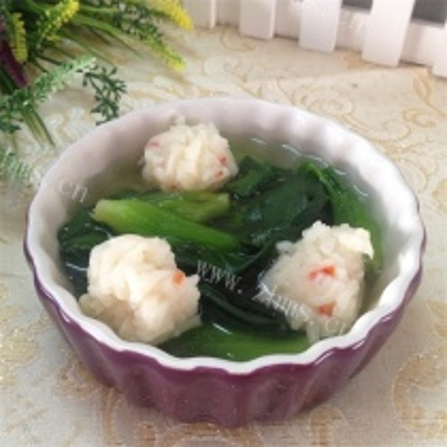 虾丸小青菜