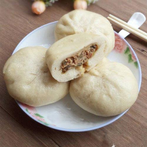 青菜豆干包