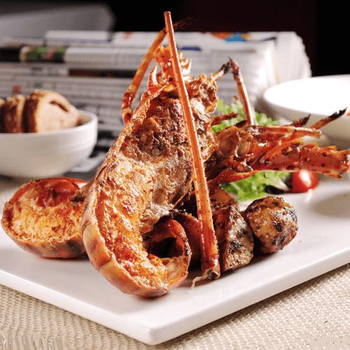 加拿大龙虾配西藏红花