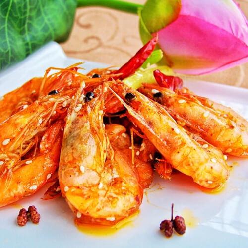 香辣吮指虾