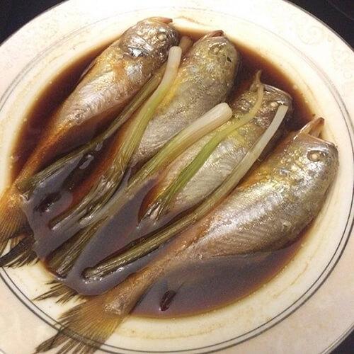 清蒸梅童鱼