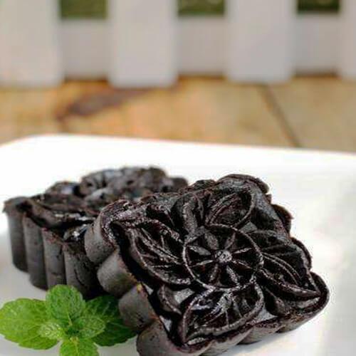 甜蜜黑豆沙
