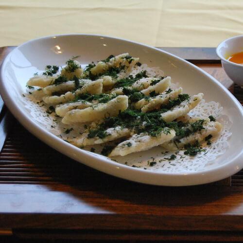 苔菜龙头烤