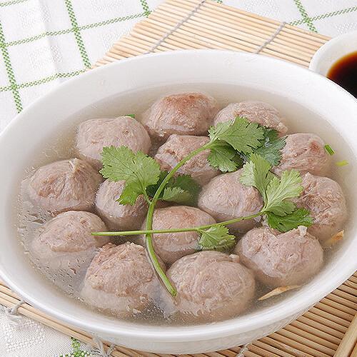 自制牛肉丸子汤