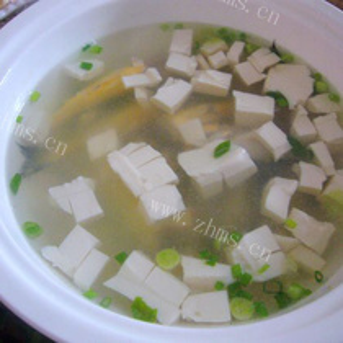 梅童鱼豆腐汤