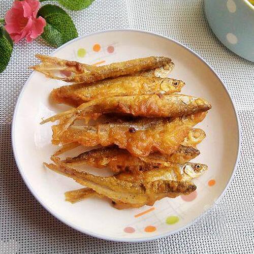 香炸白条鱼