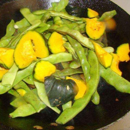 绿贝贝炖菜
