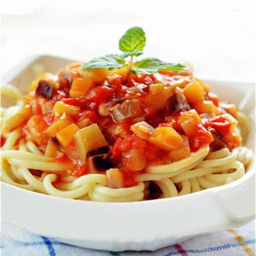 西红柿茄丝面