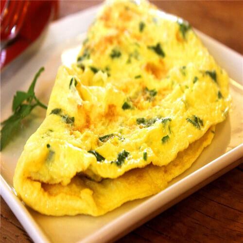 绿豆鸡蛋煎饼