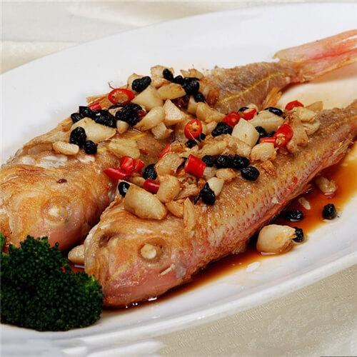 清蒸金线鱼
