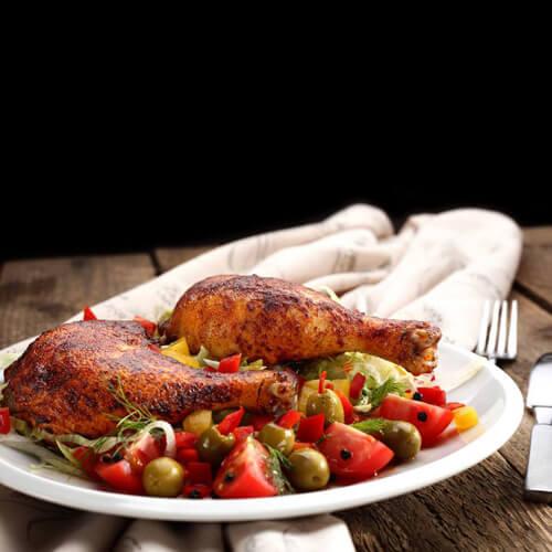 火鸡腿焖饭