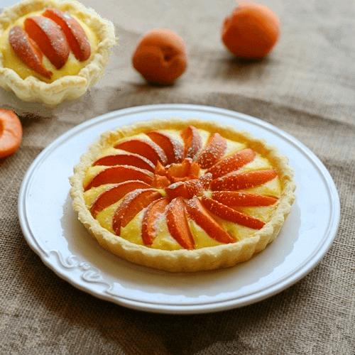焦糖杏子派