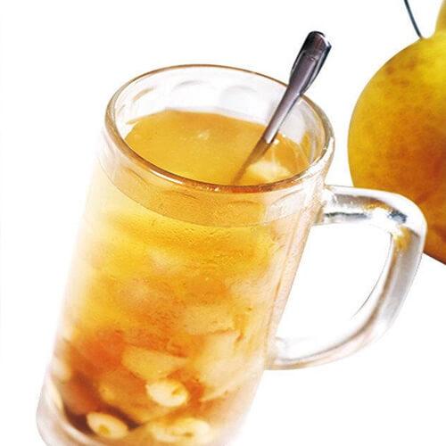 简单的鸡骨草雪梨茶