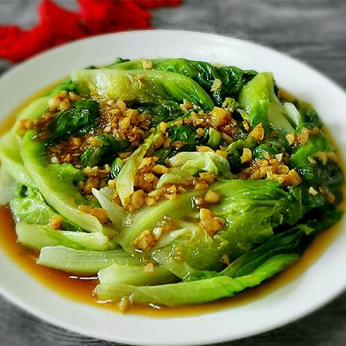 蚝油生菜(懒人版)