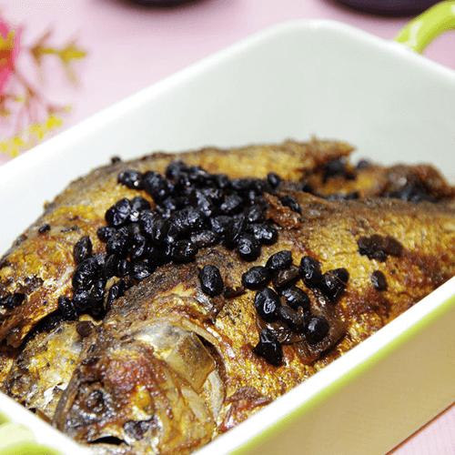 豉香酥焖海鲫鱼