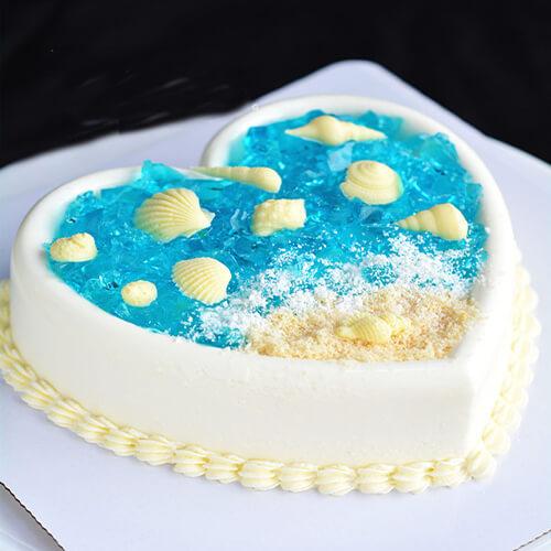 椰蓉巧克力海洋杯蛋糕