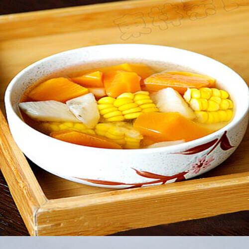 胡萝卜山药玉米汤