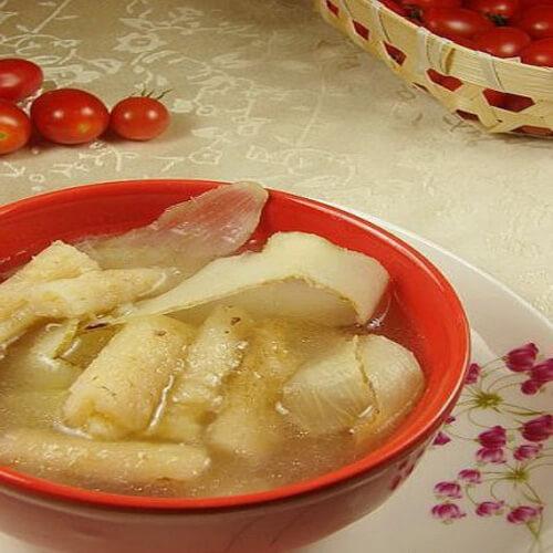 沙参玉竹鸡骨汤