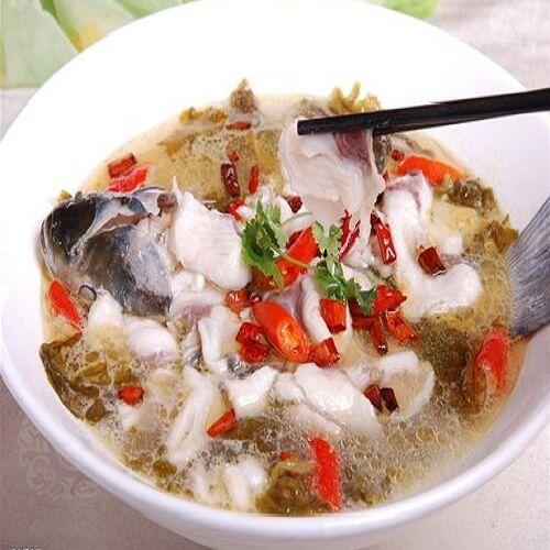 鱼干炖豆腐