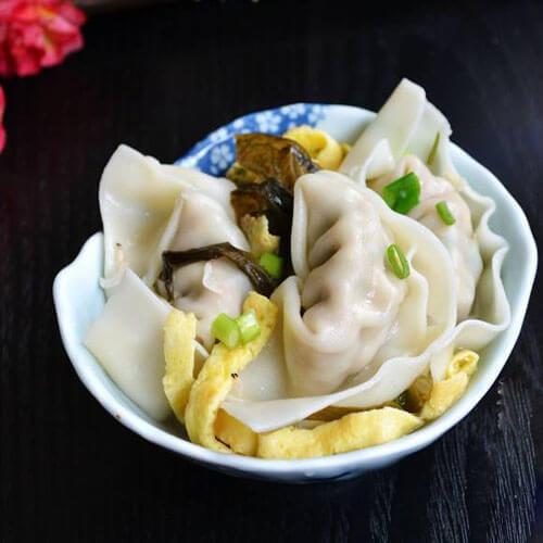 芹菜虾米肉馄饨