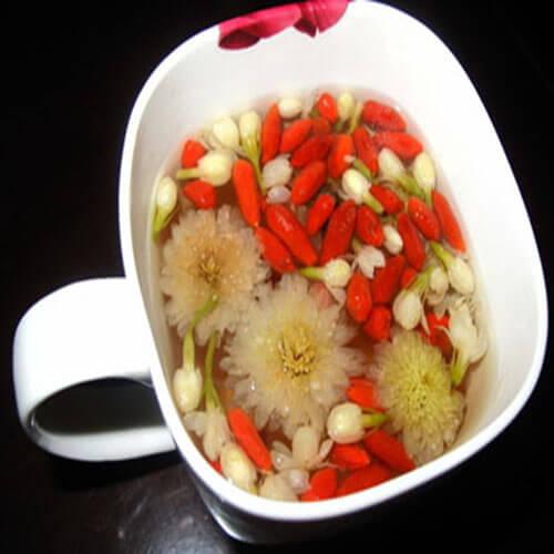 杭白菊金银花枸杞籽—冲茶