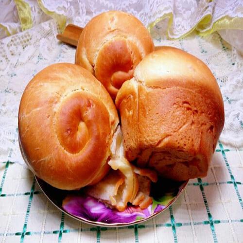 椰肉面包卷