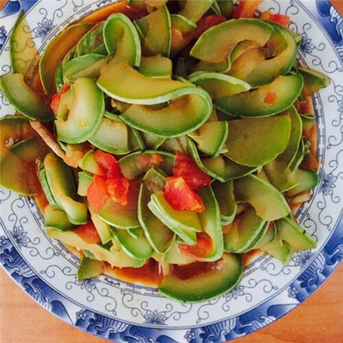 西红柿炒葫芦