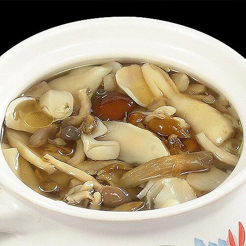 双菇鱼丸汤