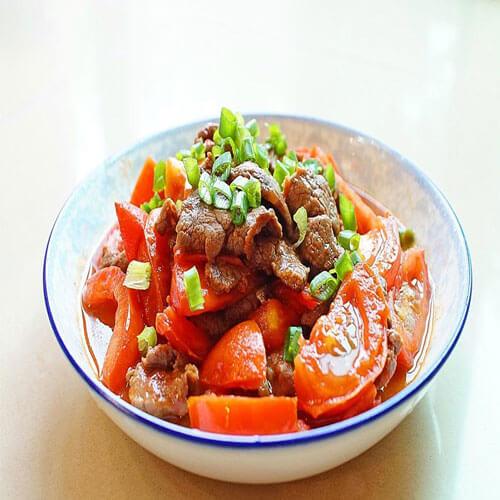 牛肉炒番茄