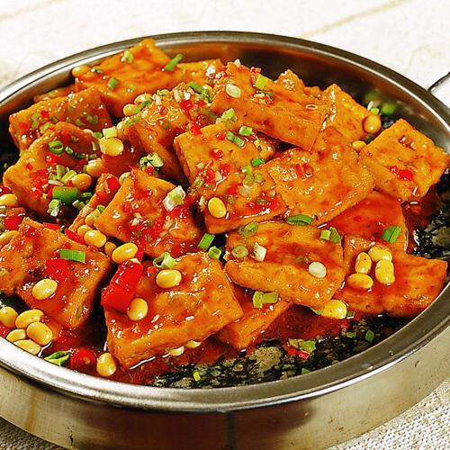香辣豆腐香锅