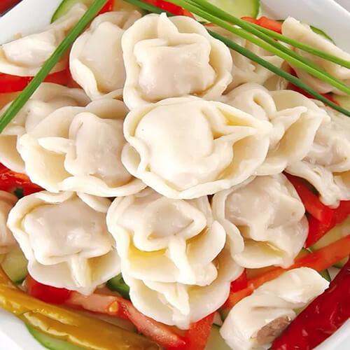 茴香苗芹菜水饺
