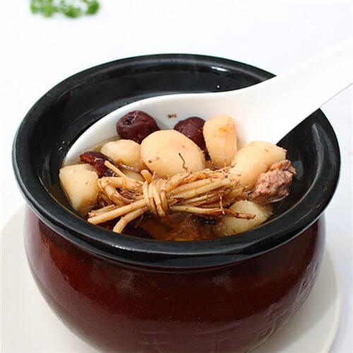 双椰响螺鹌鹑汤