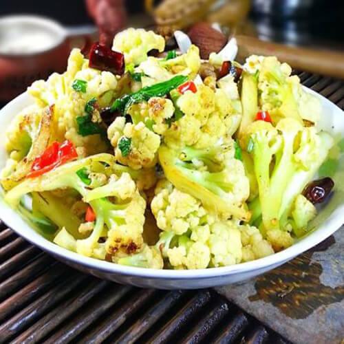 干锅花椰菜