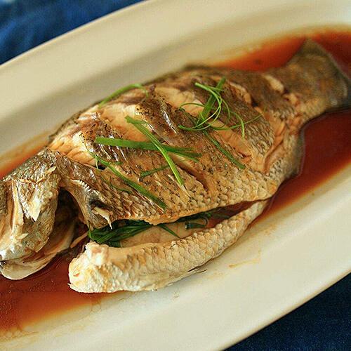 #特色美食#清蒸鳜鱼