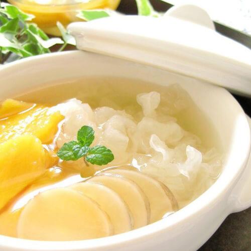 黄桃银耳糖水